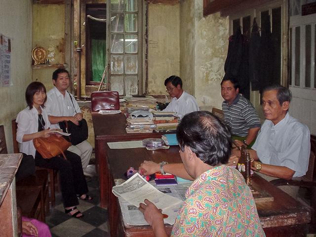 弁護士事務所で打合せ@ミャンマーヤンゴン