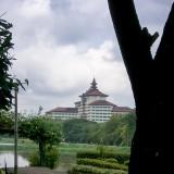 セドナホテル遠景@ミャンマーヤンゴン