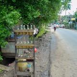 たぶんガソリン販売所@ミャンマーヤンゴン