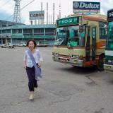 バスターミナルにて@ミャンマーヤンゴン