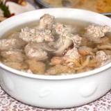 魚団子スープ @平成の無責任男Bさん宅