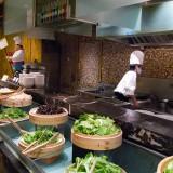 麺をオーダー@紹興開元名都大酒店の朝食
