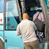 木蘭行きバスに乗る@三棵樹長距離バスターミナル