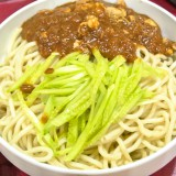 炸醤麺(ジャージャー麺)@木蘭餃子大王