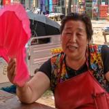 肉屋のおばちゃん@木蘭の青空市場