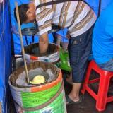 なんと木の樽で作っていた@木蘭のアイスクリーム屋さん