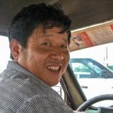 三輪タクシーの運転手さん 撮らせて!@木蘭