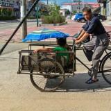 三輪自転車@黒竜江省木蘭