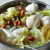 魚丸米粉(魚団子入り米麺)@北京