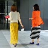 マキシワンピの中国人女子@北京朝外SOHO
