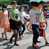 中国人女子ファッション@北京