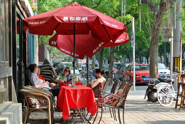 三里屯のカフェ@北京