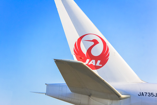 日本の翼JAL@成田空港