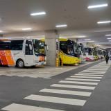 団体バス駐車場@東京スカイツリー