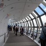 展望回廊のスロープ@東京スカイツリー